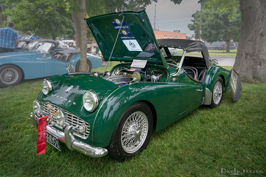1959 Triumph TR3a - 2014 Brits In The Park