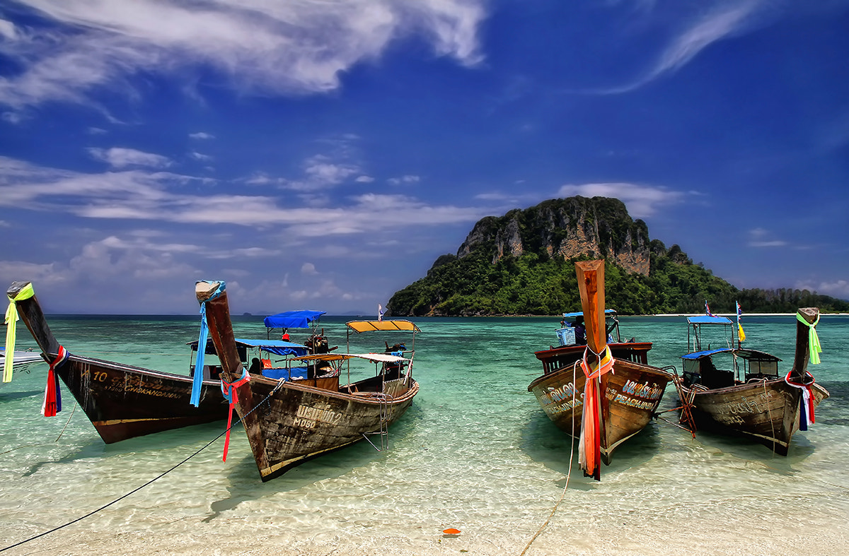 Photograph Boats by Partha Roy on 500px