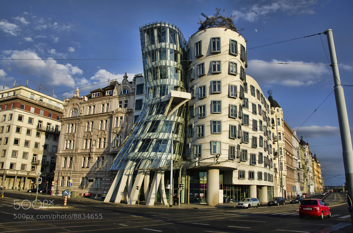 Photograph [089] Tančící dům - The Dancing House - Ginger and Fred (II) by Ricky Marek on 500px