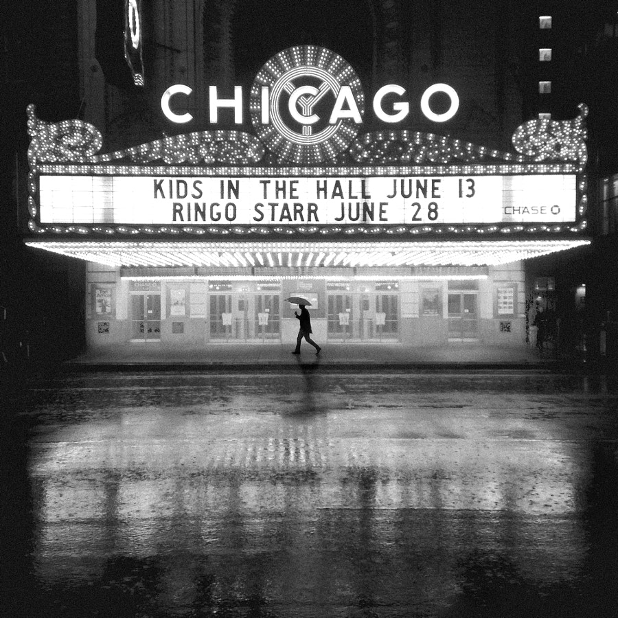 Photograph Chicago theatre by Cocu Liu on 500px