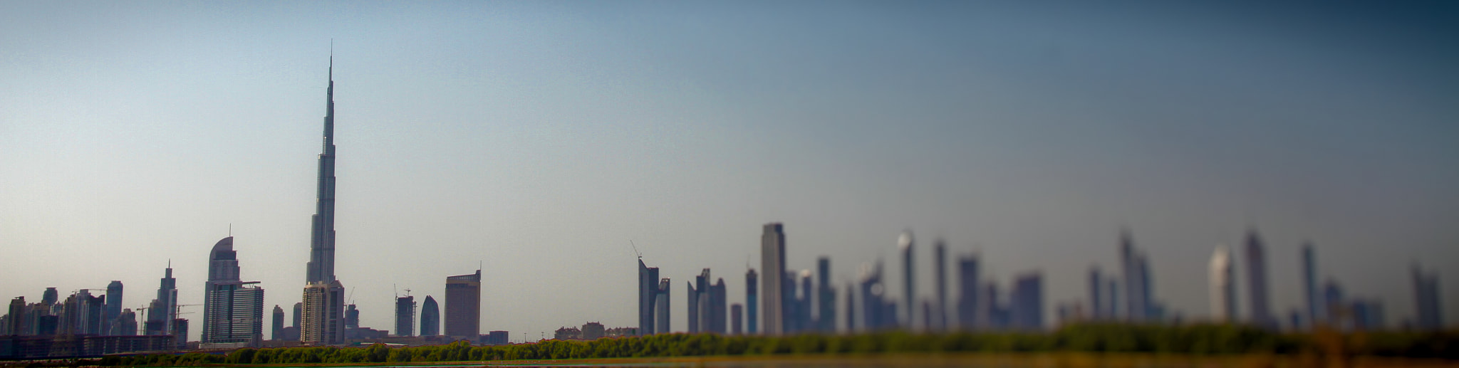 Photograph Dubai Skyline 2 by Michael Tedford on 500px