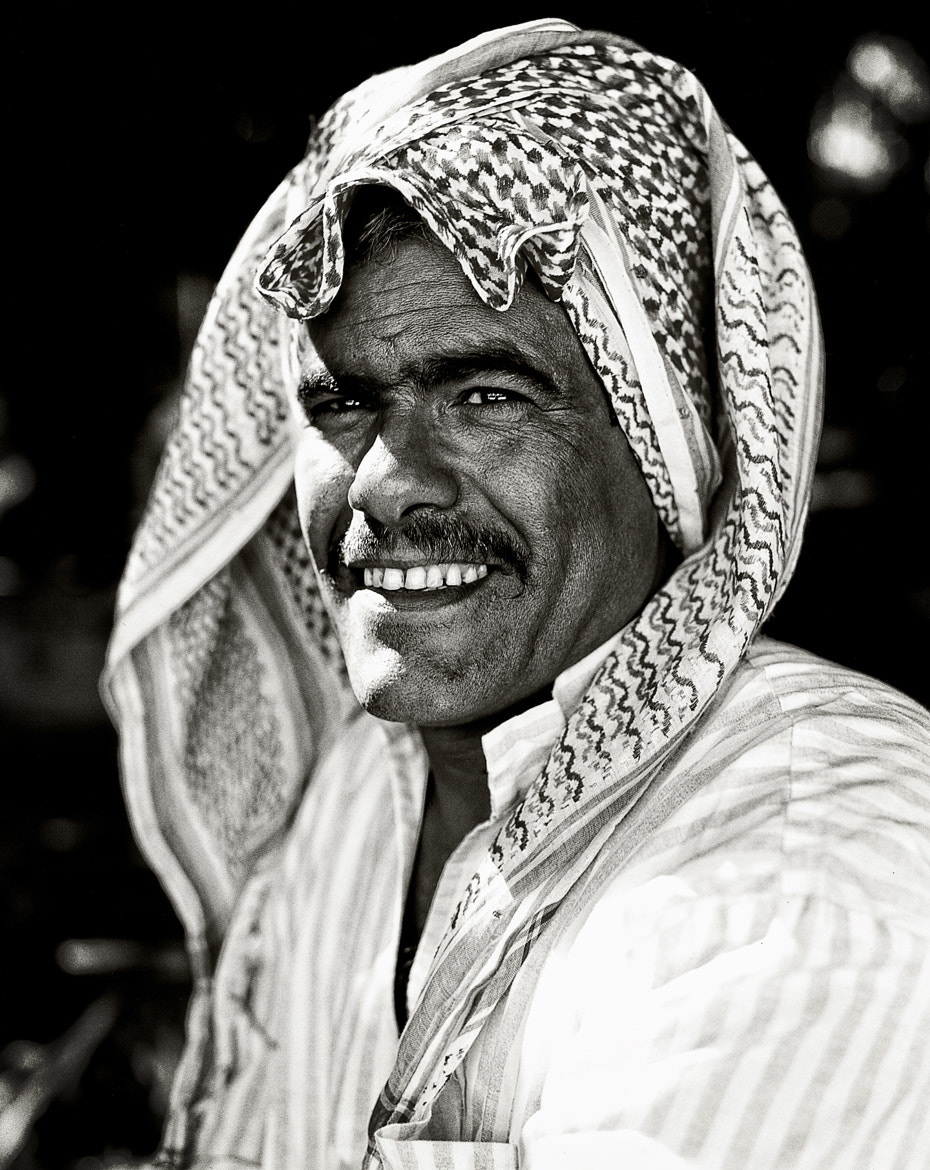 Photograph The Happy Bedouin by Roy Zipstein on 500px