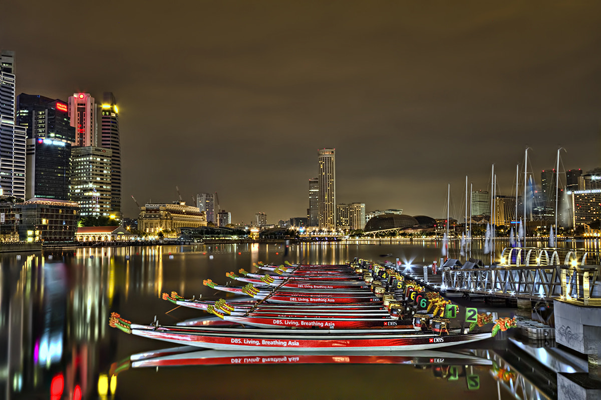 Photograph Dragon Boats by Partha Roy on 500px