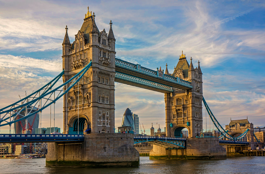 Photograph Tower Bridge by Martin Podt on 500px