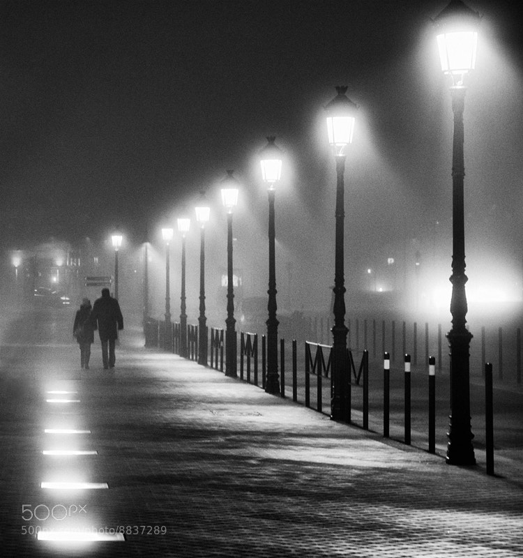 Photograph A walk in the night #9 by Magali K. on 500px