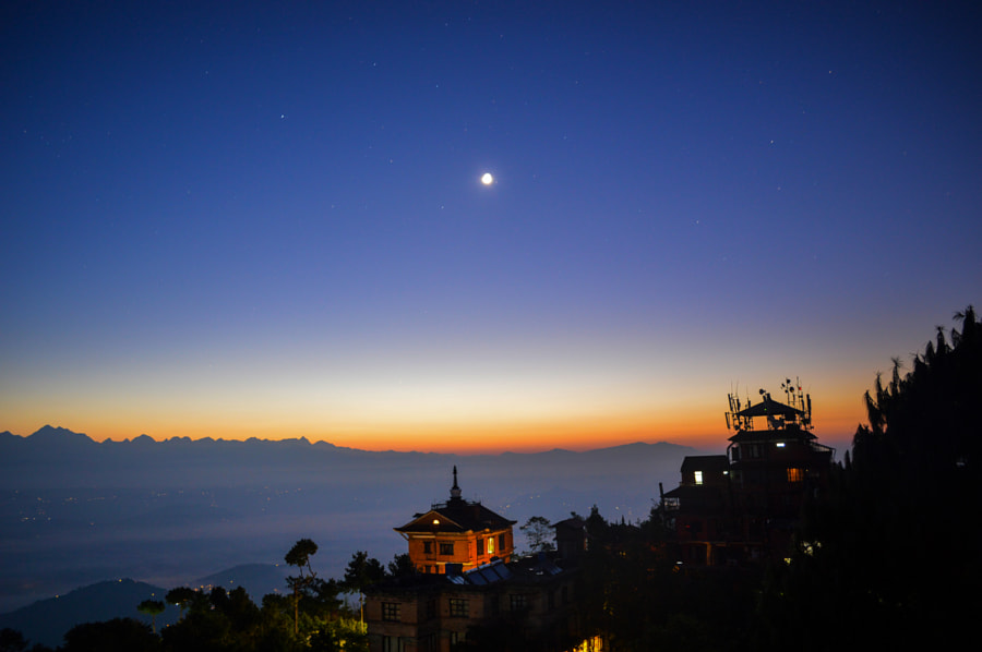 early morning view from Nagarkot by Photos of Nepal on 500px.com