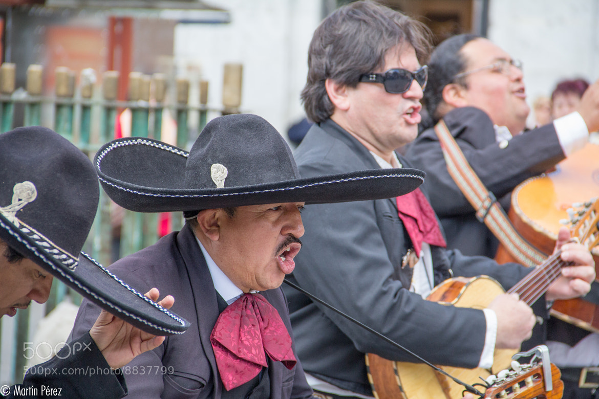 Photograph mariachis in Madrid by Martín Pérez on 500px