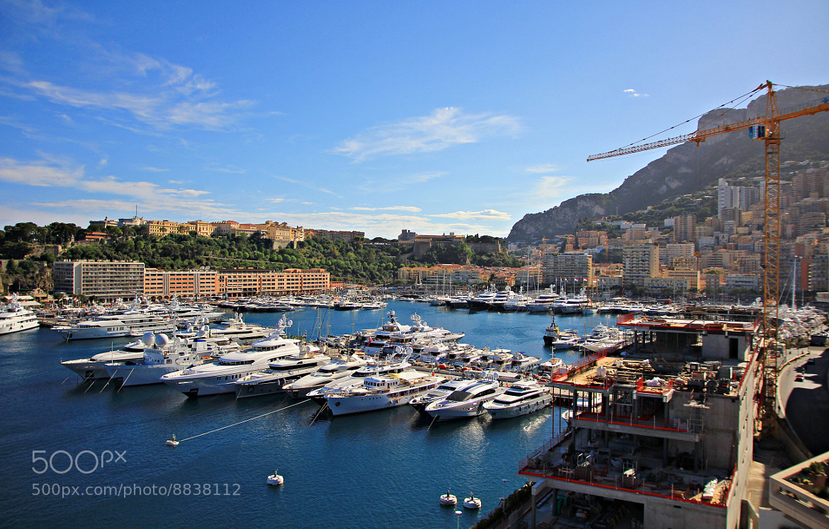 Photograph Monaco Harbor by Boris Chou on 500px