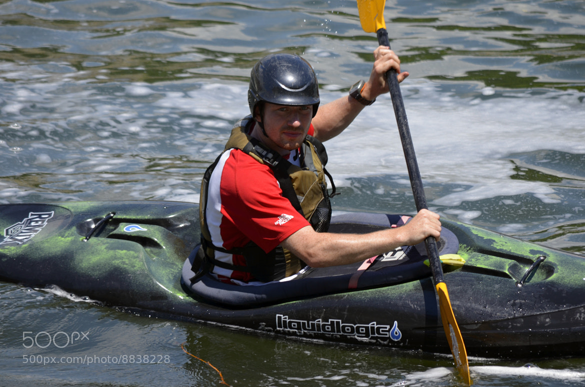 Photograph Kayaking in Great Falls VA 2 by Vineeth M on 500px