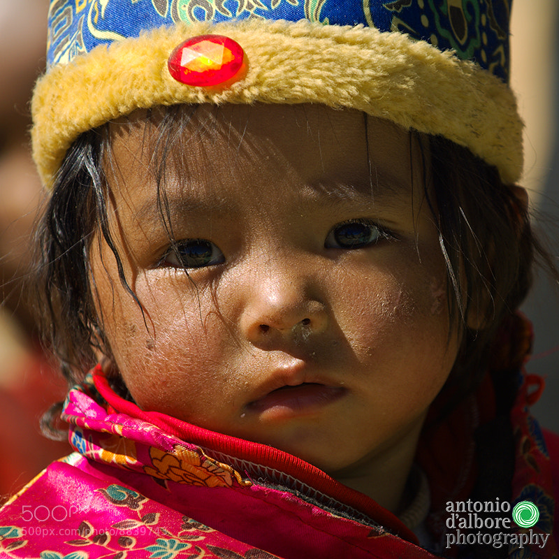 Photograph Tibetan Girl by Antonio D'Albore on 500px