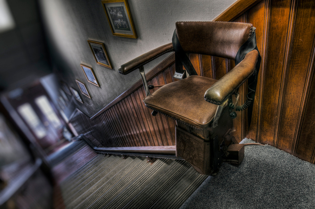 Photograph The Seat-Lift by Frank Grace on 500px