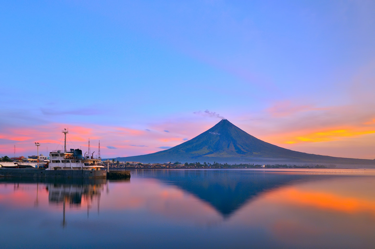 Photograph Morning Colours & Reflection by Dacel Andes on 500px