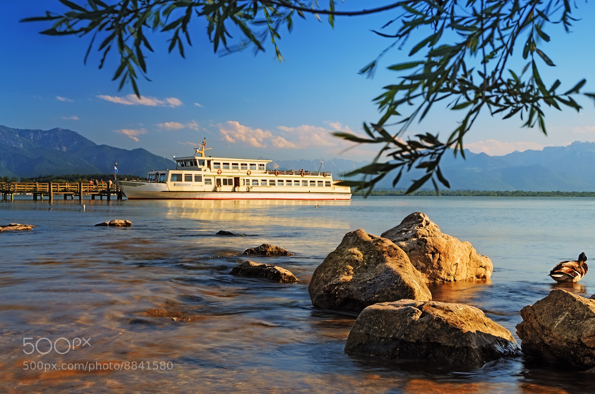 Photograph chiemsee boat by Daniel Beck on 500px