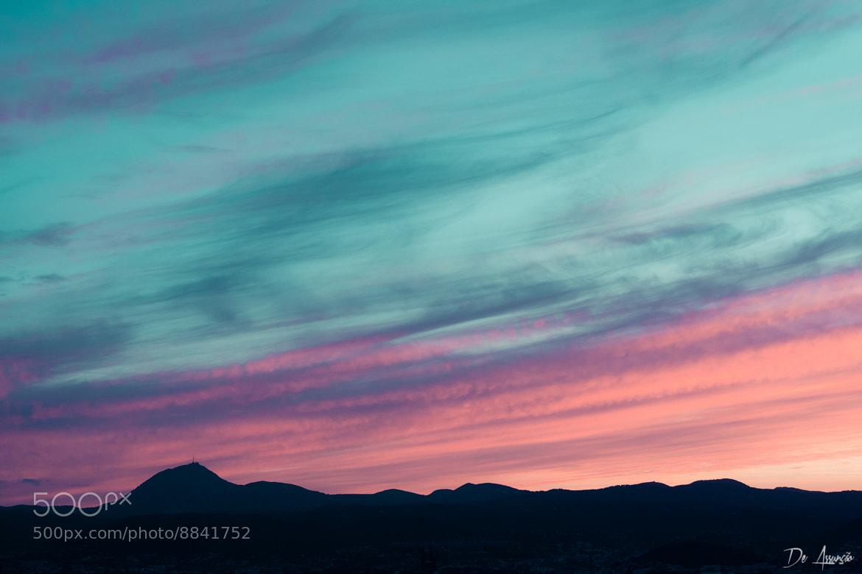 Photograph Coucher de soleil sur le Puy de Dome by Damien De Assunção on 500px