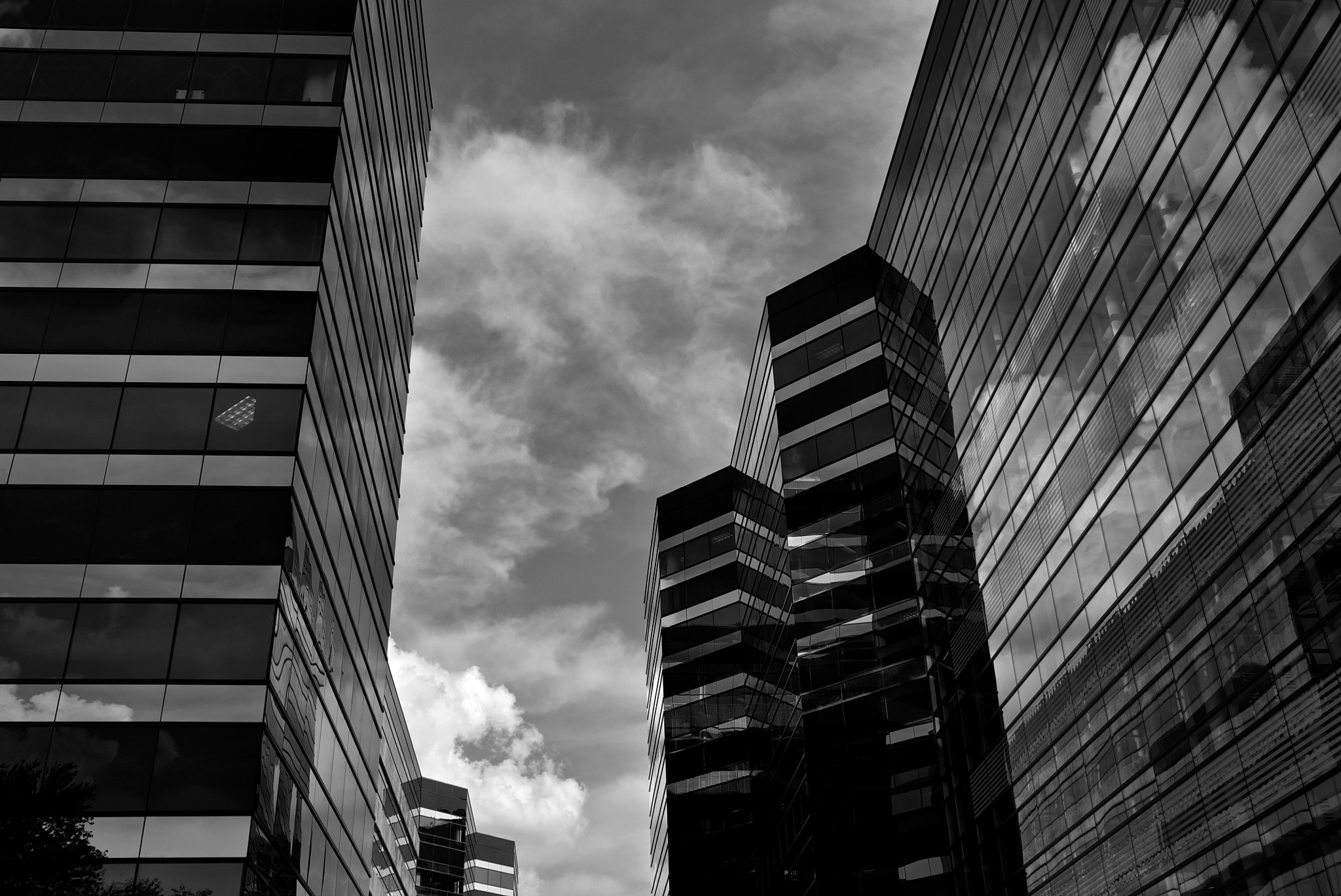 Photograph Angles and Clouds by Doug Hardman on 500px