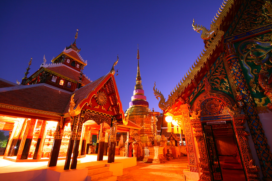 Photograph Temple of north thailand  by MooFiGhT A. on 500px