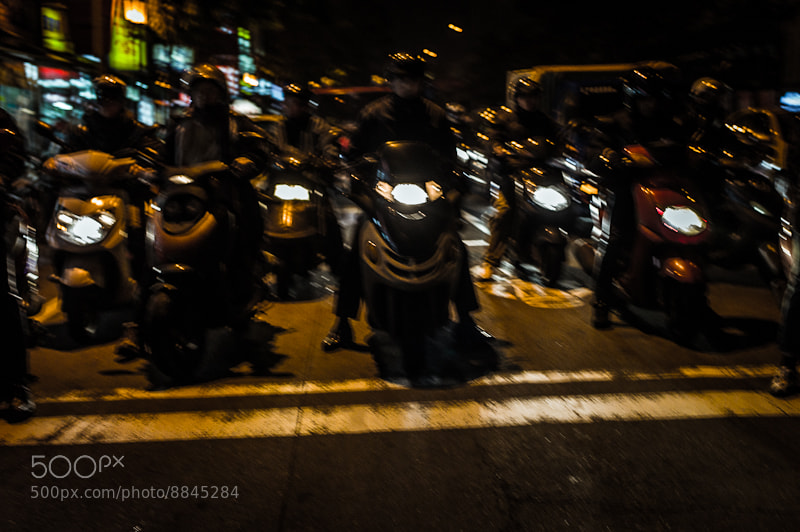 Photograph Scooters by Kang Leong on 500px