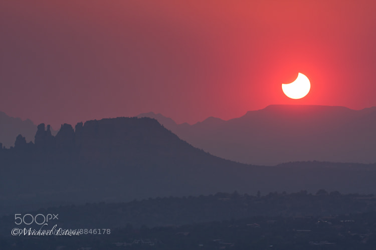 Photograph Eclipsed Sunset by Michael Litwin on 500px