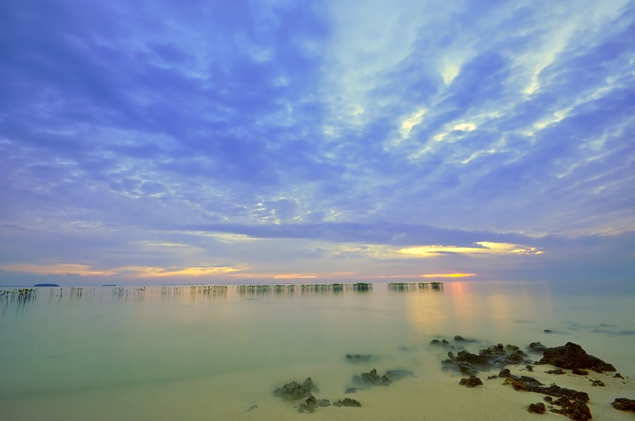 Photograph Morning at semak daun island by Arie  Sudharisman on 500px