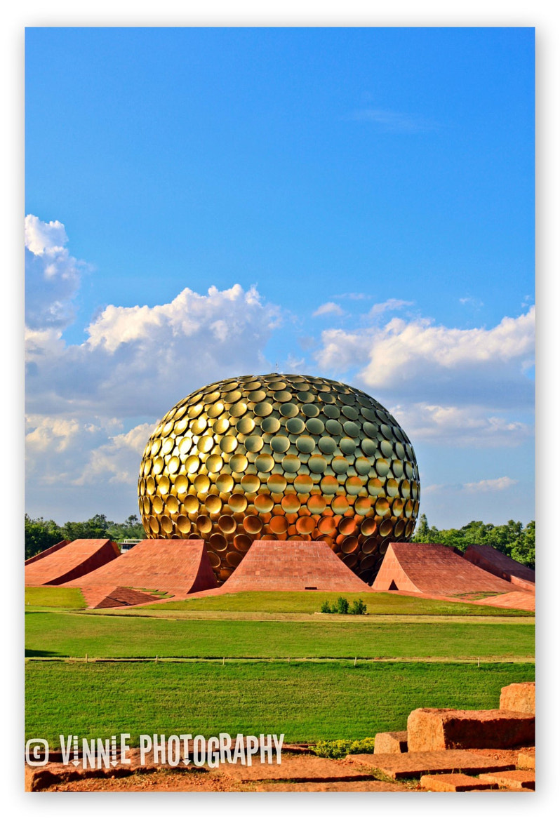 Photograph Auroville  by Vinu Padmanabhan on 500px