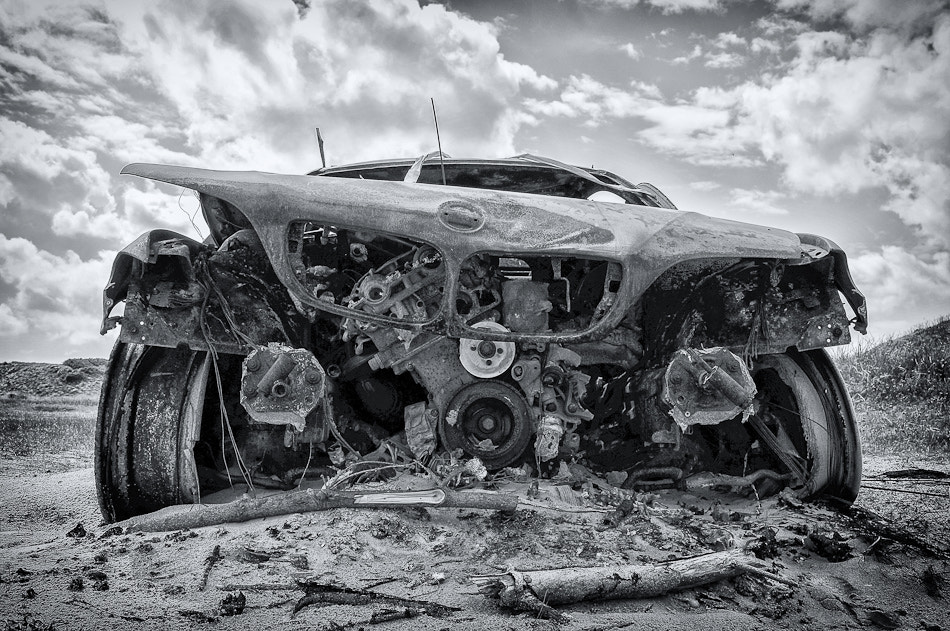 Photograph Burned Out BMW by T. Reflexion on 500px