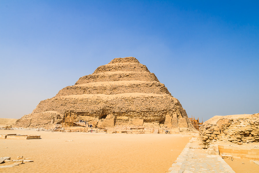 Photograph Saqqare Djoser´s Step Pyramid by Jose Agudo on 500px