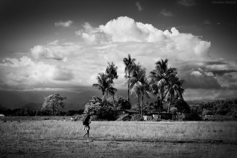 Photograph The Lonely Traveller by Amlan Sanyal on 500px