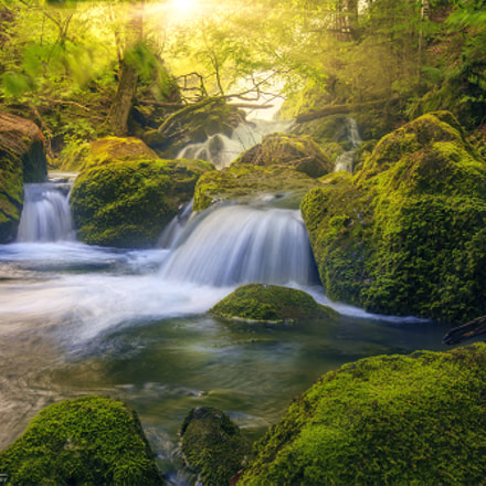 Giessbach waterfall