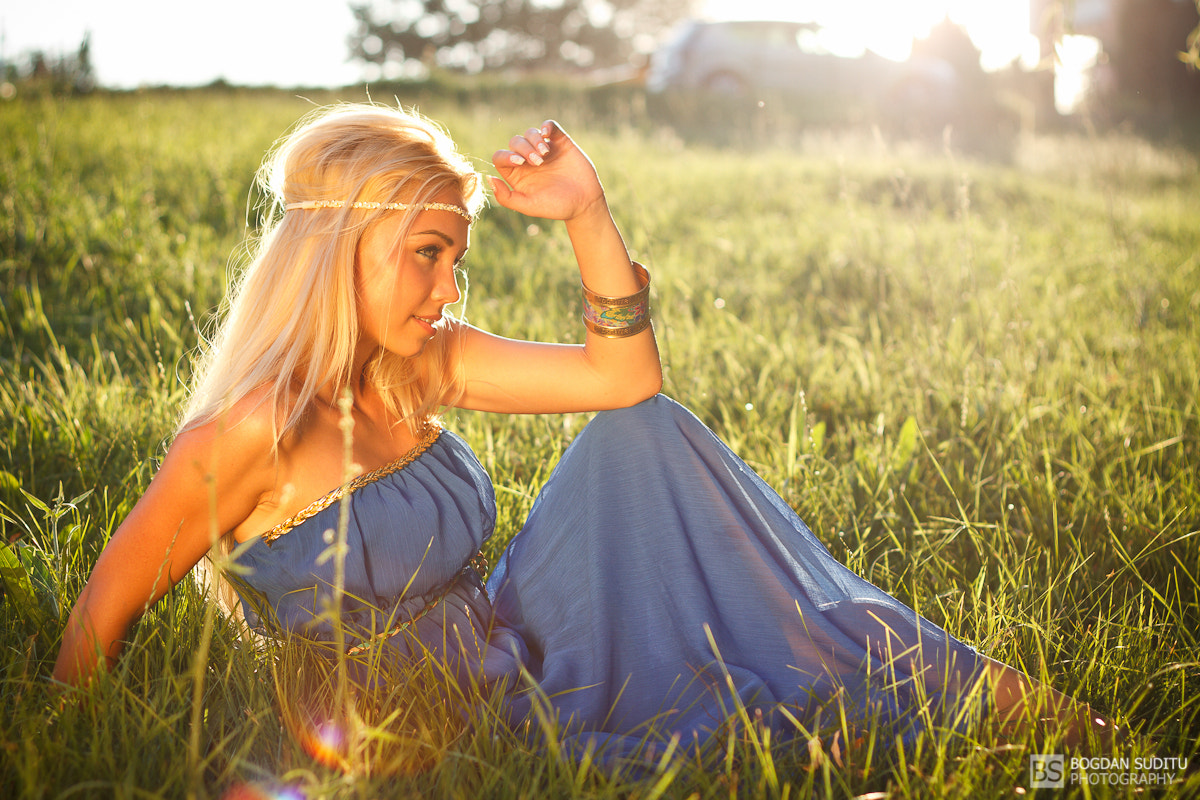 Photograph First outdoor model photo shoot this year by Bogdan Suditu on 500px