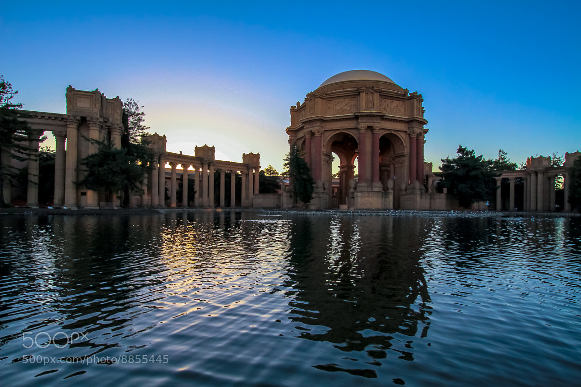 Photograph Setting Sun on the Palace by Steve  Werney on 500px