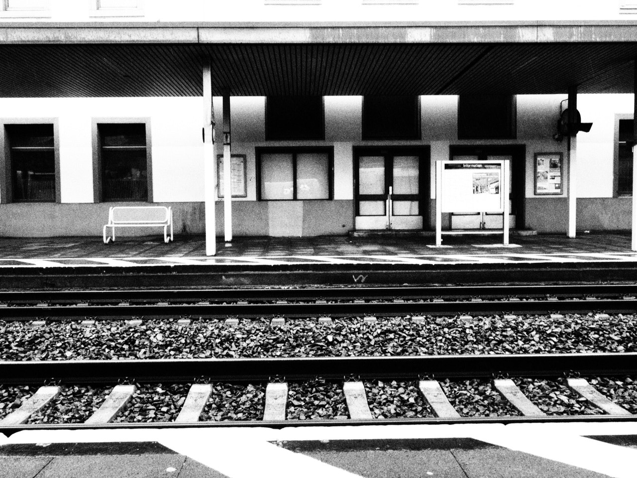 Photograph Train Station by MarkLs L. on 500px