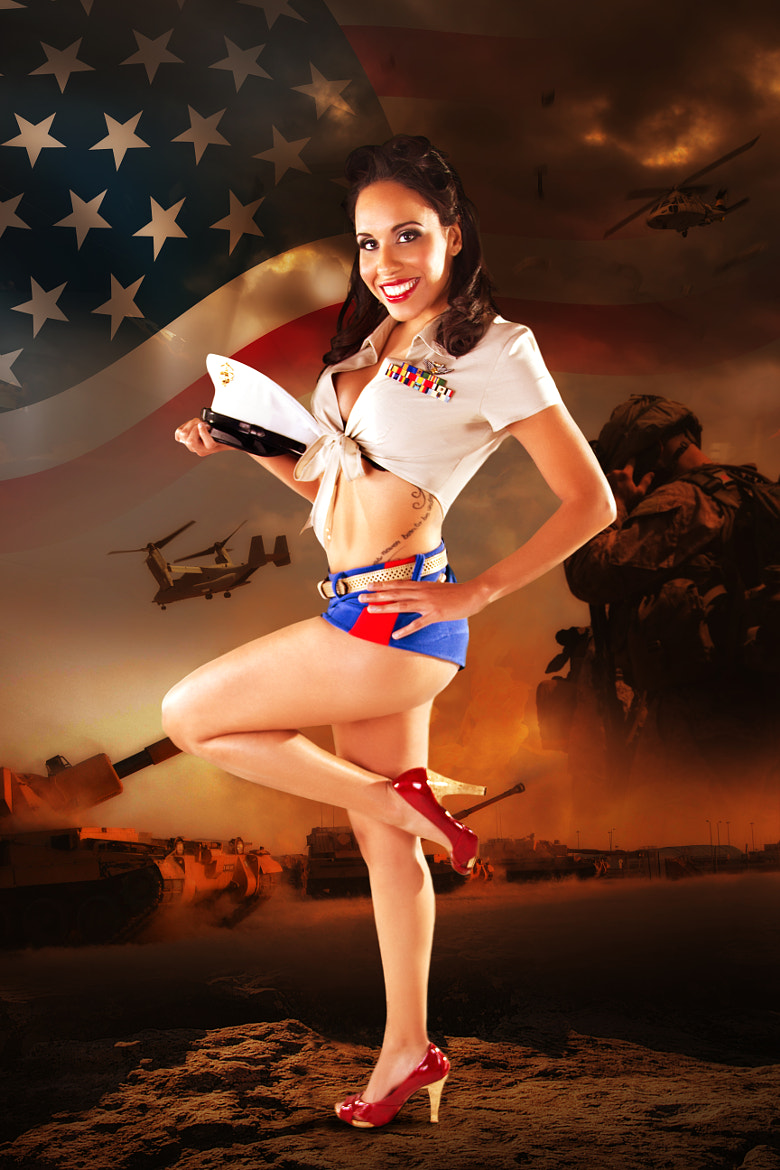 Photograph Military Pinup by Sylvia Sepulveda on 500px