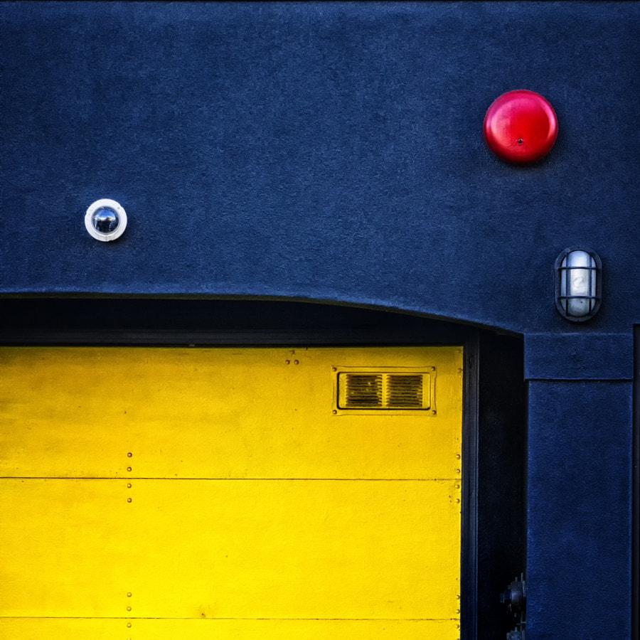Alarm Over Yellow Door
