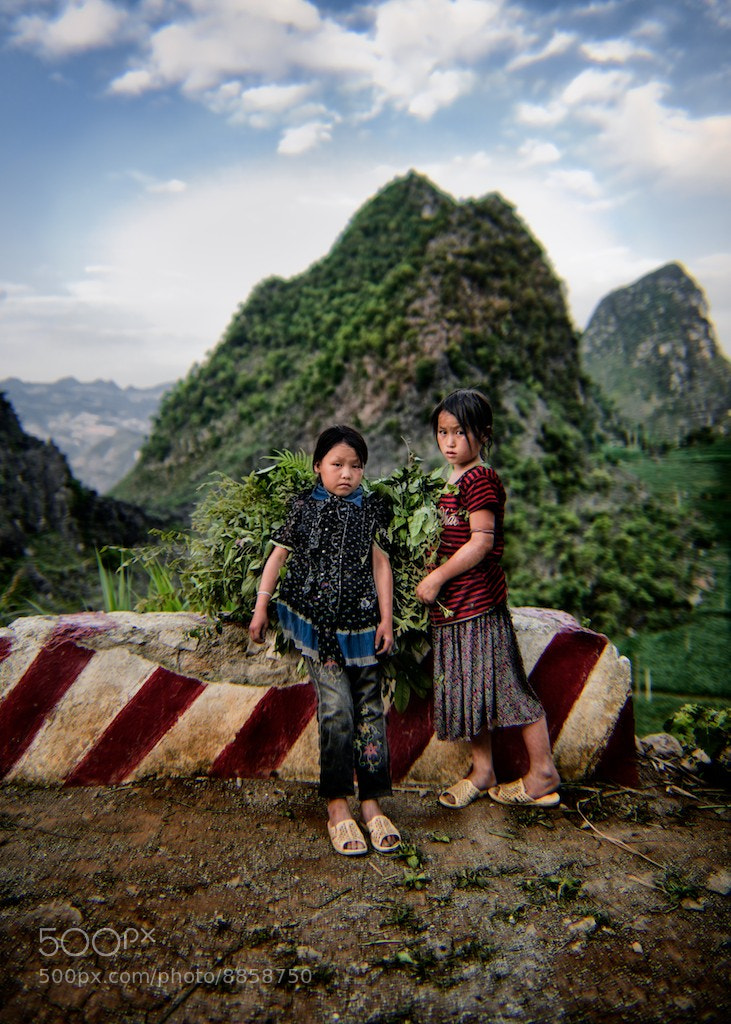 Photograph Children of Meo Vac, Ha Giang by Visions of Indochina on 500px