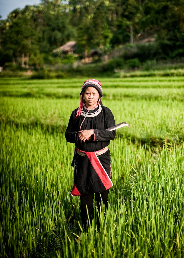 Photograph Black Hmong woman in the hills of Ha Giang by Visions of Indochina on 500px