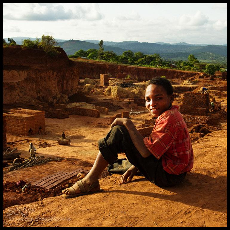 Photograph Brick Factory Portrait by Alina Vorob on 500px