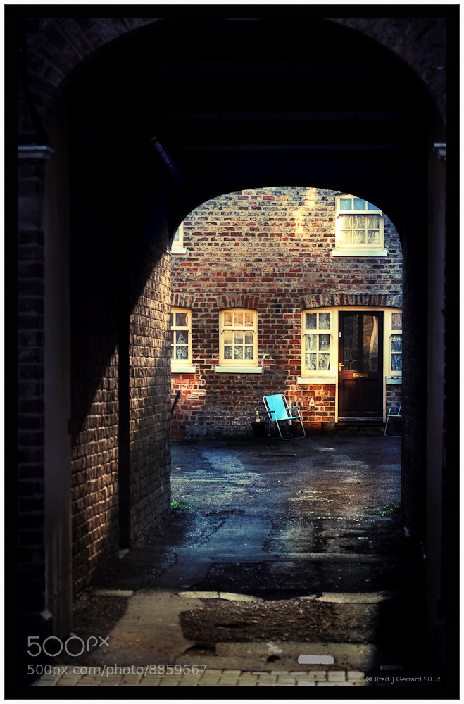 Photograph Yorkshire Yard, England by Brad J Gerrard on 500px