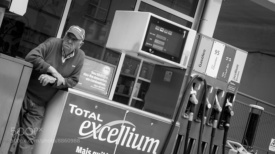 "Photograph The ""Petrol Man"" by Rúben Almeida on 500px"