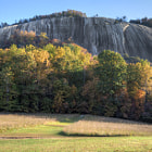 Постер, плакат: stone mountain | homesteaddome panorama