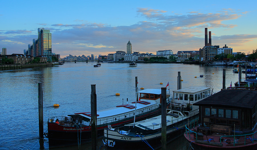 Evening Light, Chelsea Reach