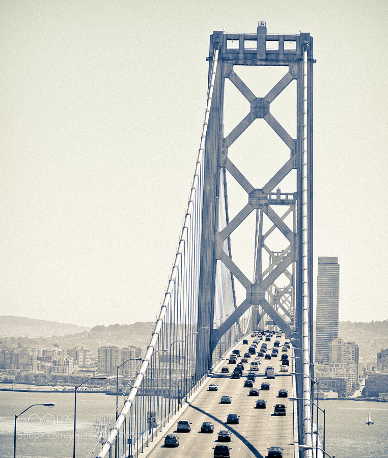 Photograph Traffic on the Bay Bridge by Cole Richards on 500px