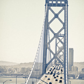Traffic on the Bay Bridge by Cole Richards (ColeRichards)) on 500px.com