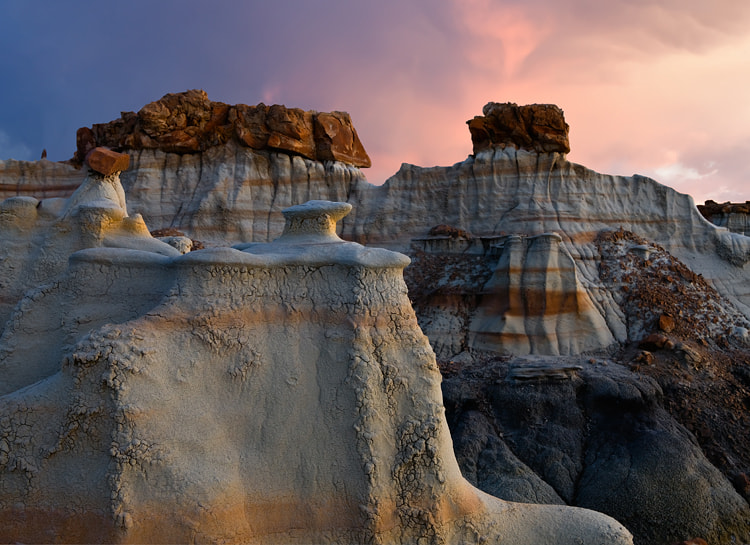 Photograph Bisti Badlands by Cecil  Whitt on 500px