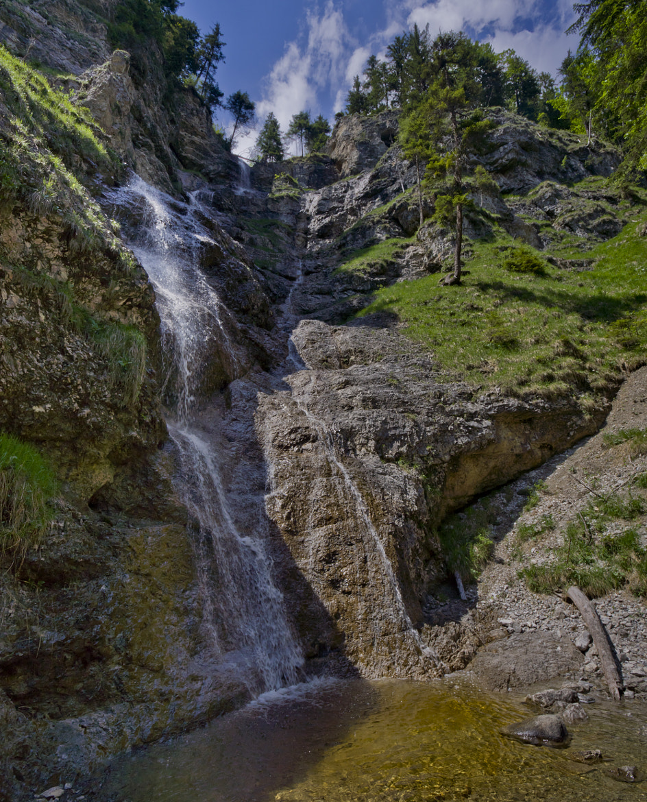 Photograph Isar Waterfall by Michael Otter on 500px