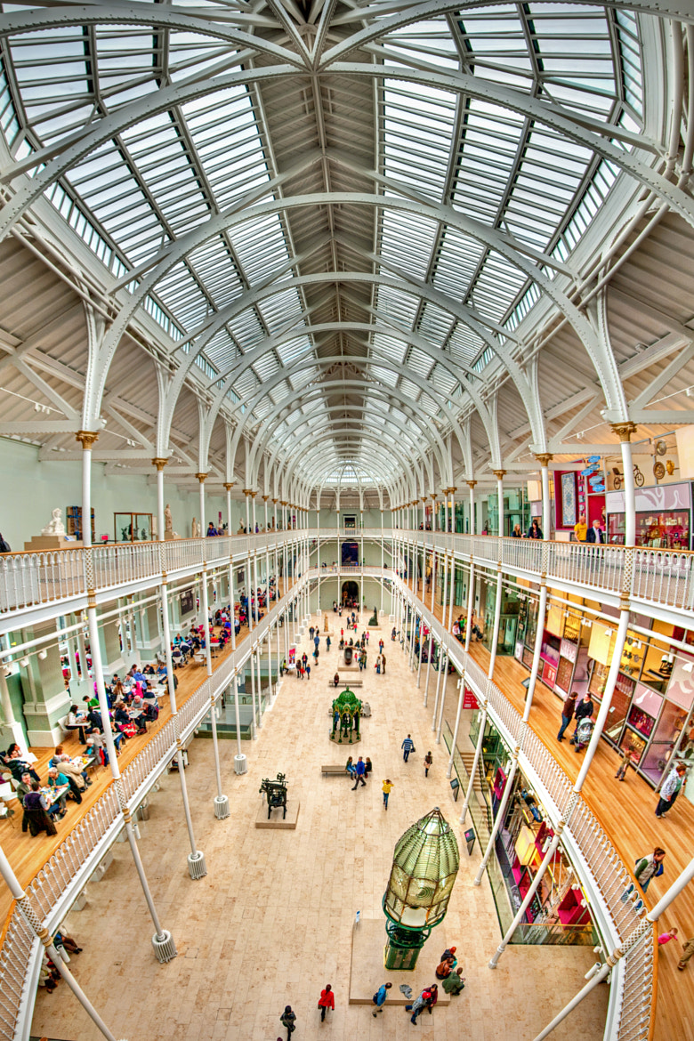 Photograph National Museum of Scotland by Zain Kapasi on 500px