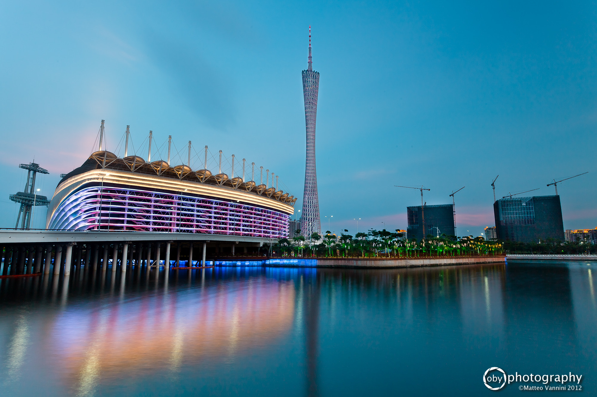 Photograph Canton Tower and the Pearl River by Matteo Vannini on 500px