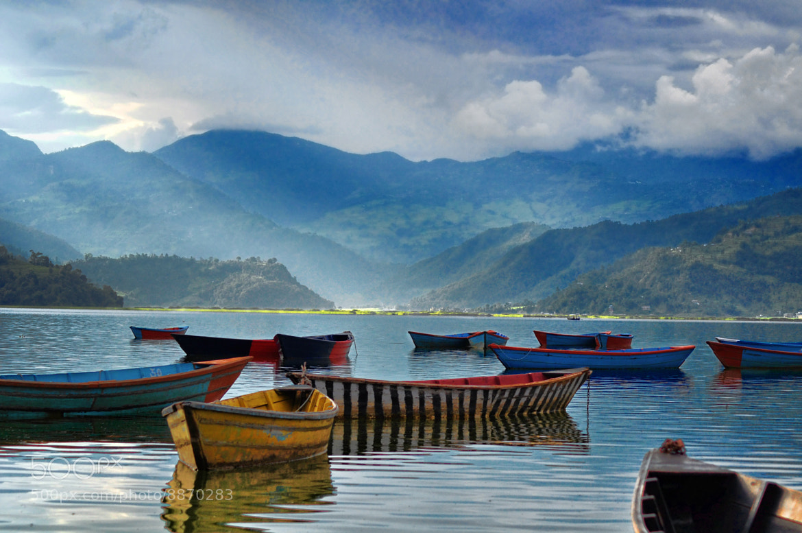 Photograph Pokhara - Fewa Lake by Dipit Raz on 500px