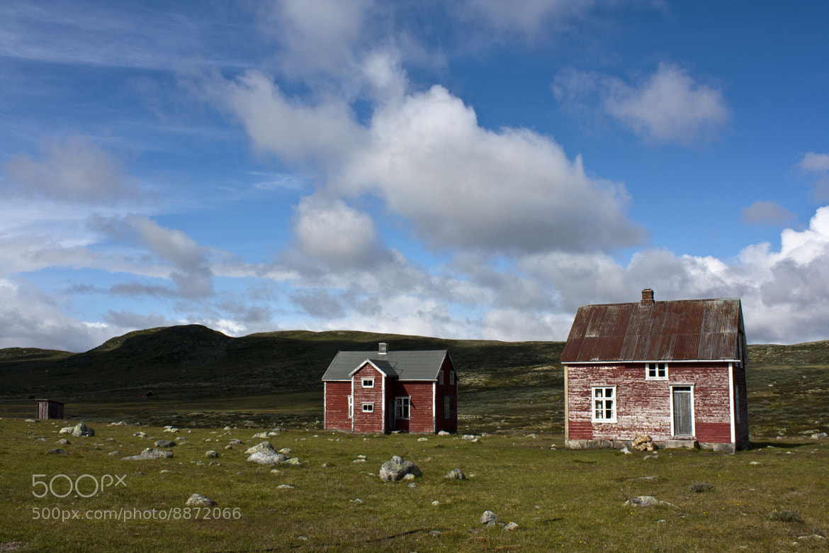 Photograph Lonely farm by Jonas Frank on 500px