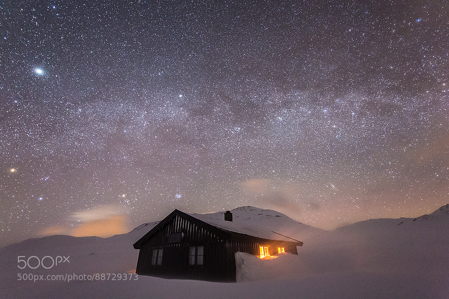 Photograph Grindaflet Hut by Espen Haagensen on 500px