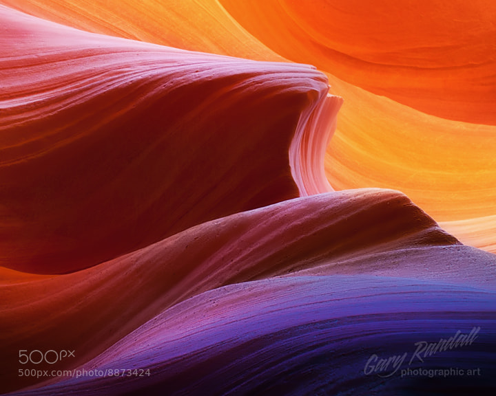 Photograph Antelope Canyon Abstract by Gary Randall on 500px